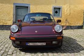purple porsche 911 porsche 911 carrera 3 2l 1984