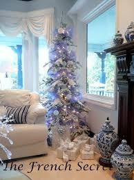 purple tulle garland ribbon tree purple