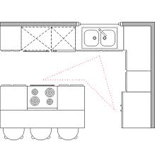 kitchen layout with island home design interior and exterior spirit