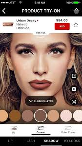 make up artist app sephora updates artist app with new ar features