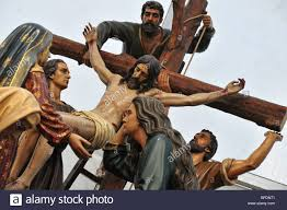 deposition of jesus christ from the cross and piety of the blessed
