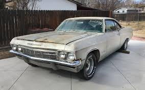 396 u0026 4 speed 1965 chevrolet impala ss
