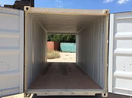 new 20 u2032 standard 1 trip double door shipping container