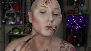 trypophobia zombie nurse halloween costume makeup tutorial youtube