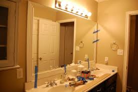 Mirror Trim For Bathroom Mirrors by Wood Trim Around Bathroom Mirror