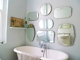 assembling oval bathroom mirrors in the bathroom u2014 doherty house