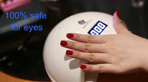 6w uv led nail lamp dryer by miropure youtube
