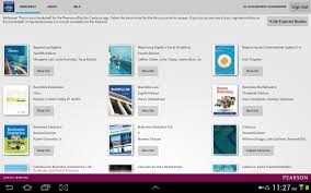 pearson etext for campus android apps on google play