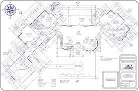 big house floor plan large plans architecture 4063 3040 site plans