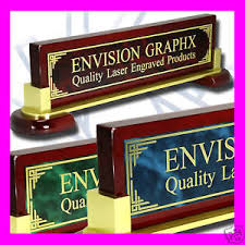 Personalized Desk Name Plates Large Personalized Custom Desk Name Plate Design Gift Pick You