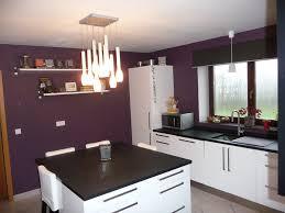 deco mur cuisine moderne cuisine grise et aubergine salon gris 13 deco mauve homewreckr co