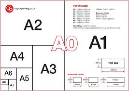 Pixel Size Of Business Card Guide To Common Brochure Paper Sizes A4 A5 A3 Dl 210 X 210mm