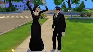 Addams Family Costumes My Sims 4 Blog The Addams Family Costumes For Teen Elder Males