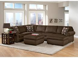Value City Sectional Sofa by Monarch Chocolate 3 Pc Sectional Value City Furniture Value
