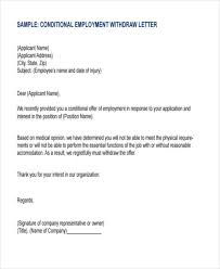 8 employment offer letter templates free samples examples