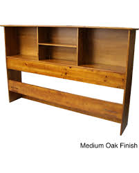 solid wood bookcase headboard queen get the deal scandinavia solid wood bookcase headboard medium oak