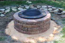 Firepit Lowes How To Make A Brick Pit Pit Design Ideas