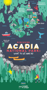 Acadia National Park Map Things To See And Do In Acadia National Park Alamo Travel Guides