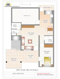 Floor Plans For Houses In India by Contemporary India House Plan 2185 Sq Ft Home Appliance