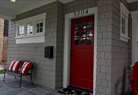 13 best choice for front exterior door paint colors red front