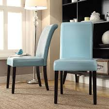 blue parsons chair modern chairs design