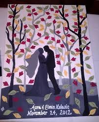 wedding guest keepsakes best 25 wedding guest book canvas ideas on
