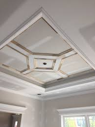 Craftsman Style Dining Room Custom Craftsman Style Home Tray Ceiling Dining Room Wernert