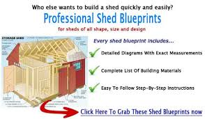 diy shed blueprints u0026 plans for building durable wooden sheds
