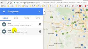 Map Home How To Change Home And Work Address In Google Maps Youtube