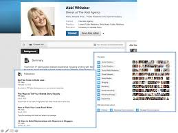 sample profile resume linkedin profile resume free resume example and writing download last but not least abbi whitaker s profile represents one final example b2b marketers can review