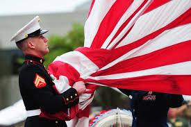Flag Corps Honoring The Flag Remember What It Symbolizes U003e Marine Corps Base