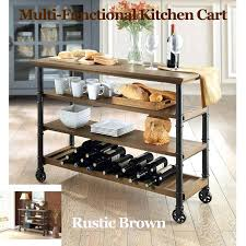 wine rack kitchen island kitchen rack kitchen island wine rustic with cart brown bar table