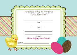 creatively quirky at home free easter egg hunt printable invitations