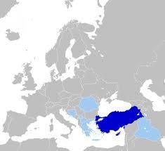 Turkey Greece Map by Turkish Language Wikipedia