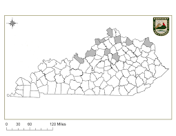 Ky County Map Kentucky Department Of Fish U0026 Wildlife Peregrine Falcon
