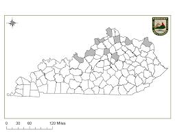 County Map Kentucky Kentucky Department Of Fish U0026 Wildlife Peregrine Falcon