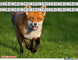 What Did The Fox Say Meme - what does the fox say by kumyto meme center