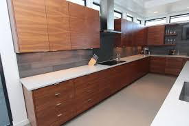 Contemporary Style Kitchen Cabinets Cabinets U0026 Drawer Kitchen Contemporary Style Walnut Medium Color