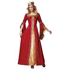 Super Deluxe Halloween Costumes Super Deluxe Renaissance Queen Costume Walmart