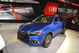 mitsubishi outlander sport 2016 blue mitsubishi archives usa auto world