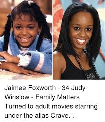 Family Matters Memes - jaimee foxworth 34 judy winslow family matters turned to adult