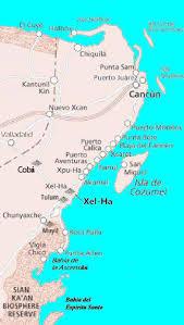 Bucerias Mexico Map by