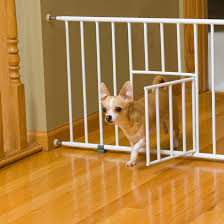 Pet Ready Exterior Doors by Carlson Pet Products Mini Pet Gate With Pet Door Walmart Com