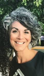 short styles for grey hair streaked 2728 best silver style images on pinterest grey hair going gray