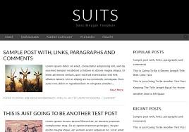 suits simple blogger template u2022 blogspot templates 2018