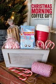 coffee gift basket ideas christmas morning coffee gift basket a owl