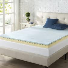 zinus mattress topper review the sleep sherpa