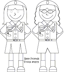 coloring pintables scout coloring pages pinterest