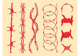 barbed wire designs free vector stock graphics