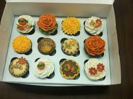 thanksgiving inspired cupcakes yum thanksgiving